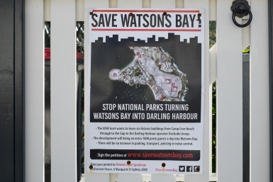 Save Watsons Bay