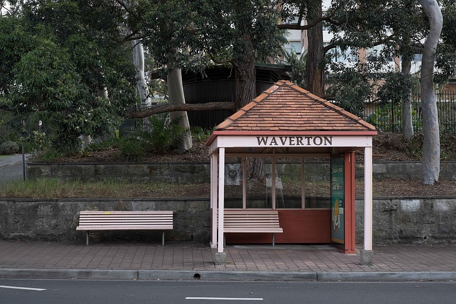 Waverton Bus Stop