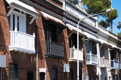 Victorian Terraces Woolloomooloo
