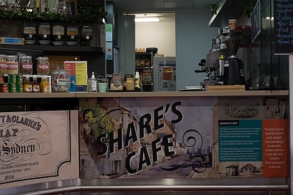 Shares Cafe at Sydney Harbour YHA