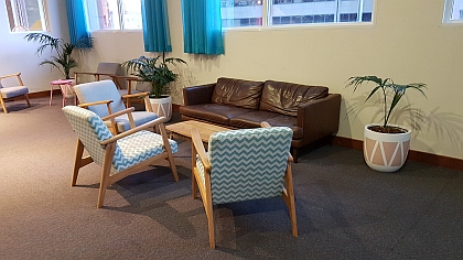 Common area of Central Sydney YHA