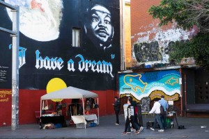 """I have a dream"" - Newtown, Sydney"