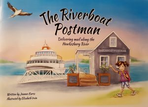 The Riverboat Postman - a children's picture book